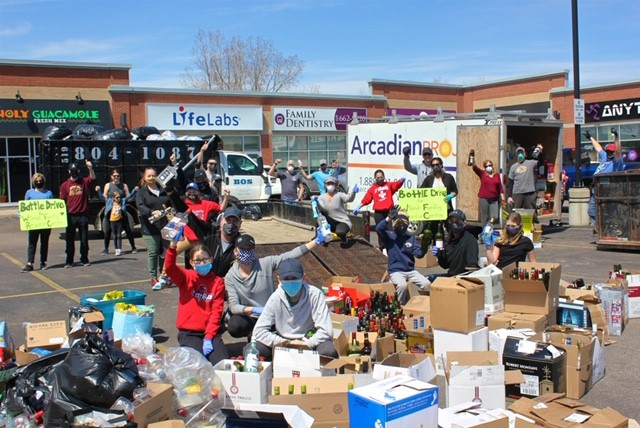 AP bottle drive 1